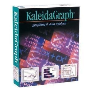 Acad Kaleidagraph 4.0 Mac Single By Synergy Software [Old Version]