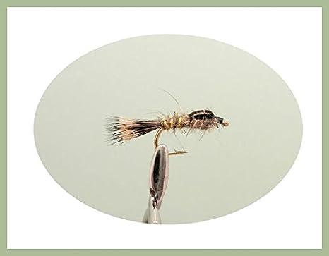 /Cruncher et faisan Tails 18/mouches de p/êche nymphes/