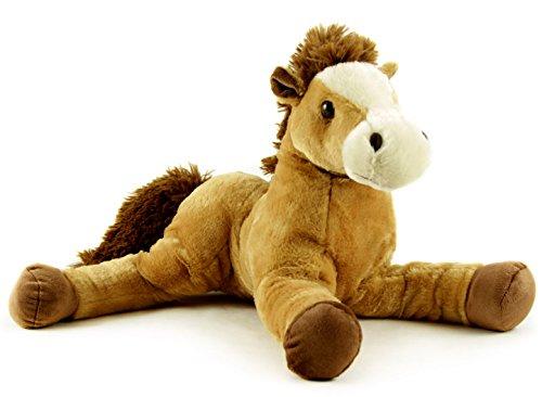kuscheliges Plüschpony Plüschpferd sehr weiches Kuscheltier Pferd 55 cm