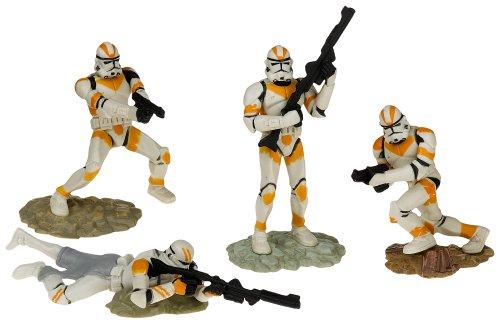 Star Wars Clone Soldiers - Star Wars Unleashed Battle 4 Pack Attack Battalion