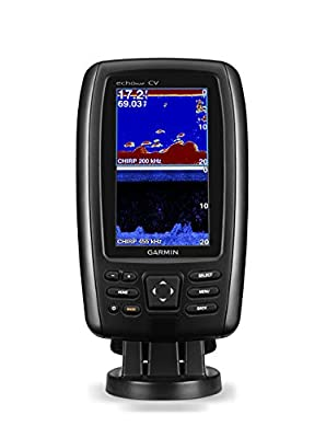 Garmin Echomap Chirp 44Cv with transducer, 010-01797-01 (Certified Refurbished)