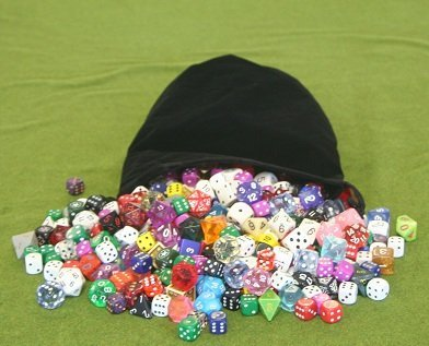 x8 Large Black Dice Bag product image