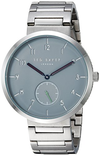 Ted Baker Men's 'JOSH' Quartz Stainless Steel Casual Watch, Color:Silver-Toned (Model: TE50011011)