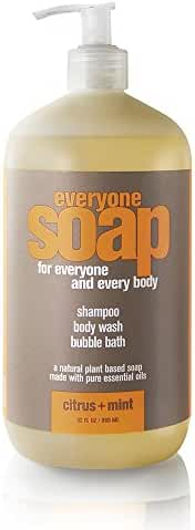 Everyone 3-in-1 Soap, Citrus plus Mint, 32 Ounce