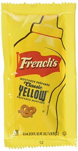 - French's Mustard Packets, Gluten-Free, No High Fructose Corn Syrup On-the-go 200 Coun
