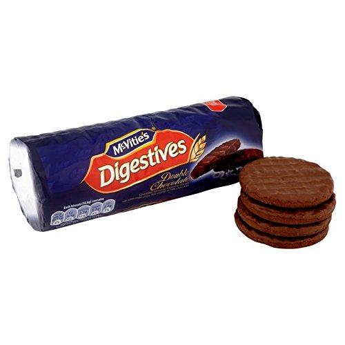 Mcvities Double Chocolate Digestives 300g Amazoncouk