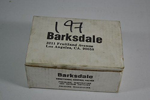 Barksdale B2T-H32SS-CS Pressure Actuated Switch 160-3200psi
