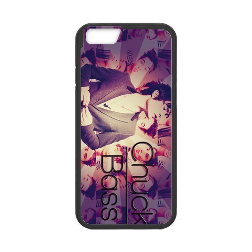 Chuck Bass Gossip Girl Custom Plastic TPU Cell Phone Case for iPhone 6 Plus 5.5 Inch Design for Fashion Unique BT-SB personality case