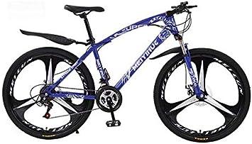GASLIKE Bicicleta de montaña Bicicleta para Adultos, Cuadro de ...