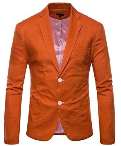 Tailles Veste 1 Blazer Confortables Travail Avec Décontractés Hommes Loisirs De Manches Longues Boutons 2 Revers Vêtements Slim Pour Fit À vwqv0H