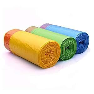 Amazon.com: Bolsas de basura con cordón de 4 galones, 15 ...