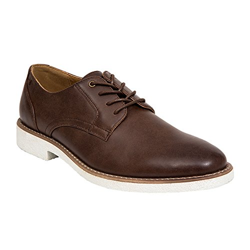 Cervo Cervi Mens Gorham Oxford Marrone Scuro
