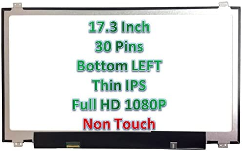 F1 PC Parts Unlimited LP156WF6 SP 15.6 inch 1920x1080 FHD Matte 30 PIN TOP Bottom Brackets IPS
