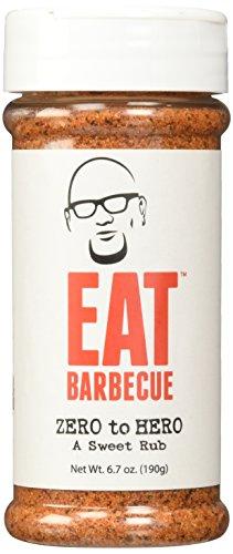 (EAT Barbecue Zero to Hero Sweet Rub 6.7oz)