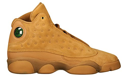 NIKE Air Jordan 13 XIII GS BG Boys Kids Youth Wheat Brown 414574-705 US Size 5.5Y Review