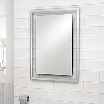 Bathroom Mirror 700x500 Glass 5mm Bevelled Edge