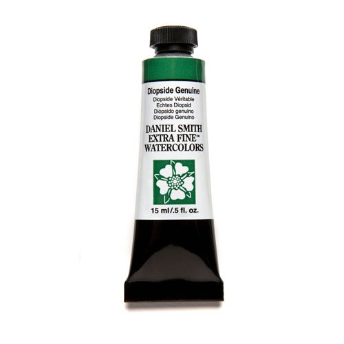 Daniel Smith Extra Fine Watercolor 15ml Paint Tube, Diopside Genuine