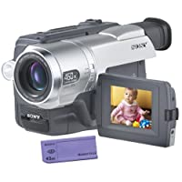 """Sony CCDTRV308 Hi8 Camcorder with 2.5""""LCD and Video Light (Discontinued by Manufacturer)"""