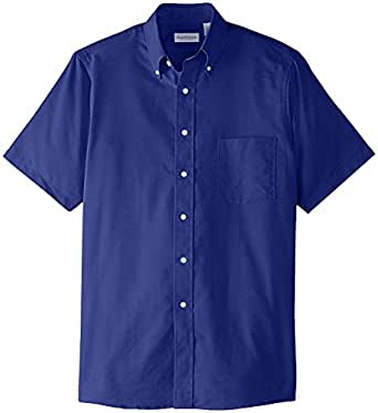 van heusen men 39 s short sleeve oxford dress shirt at amazon