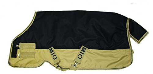 - Horseware Mio Medium Turnout Blanket 78 Navy/Tan