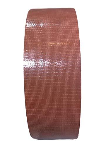 (T.R.U. CDT-36 Industrial Grade Duct Tape. Waterproof and UV Resistant. Multiple Colors Available. (Dark Brown, 2 in.))