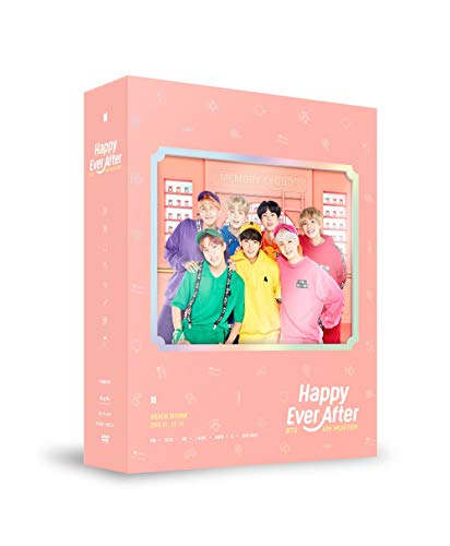 BTS BANGTAN BOYS - BTS 4th MUSTER Happy Ever After DVD 3Discs+Photobook+Postcard+Photocard+Extra Photocards Set ()