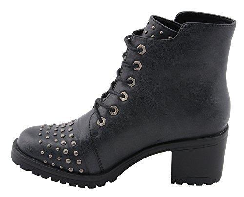 Milwaukee Performance Women's Rocker Boot (Distresed Black, 9), by Milwaukee Performance (Image #4)
