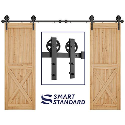 Best Kit With Double - SMARTSTANDARD 10FT Double Gate Heavy Duty
