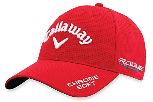 Callaway Golf 2018 Tour Authentic Adjustable Hat, Red