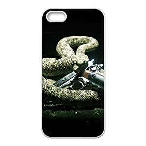 HD Beautiful image for iPhone 5 5s Cell Phone Case White hitman absolution game 7099 HOR8278201