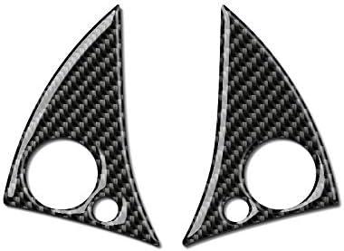 Piaobaige F/ür Mercedes W204 C klasse Carbon Auto /änderung innentaste Aufkleber Lenkrad Auto Tasten abdeckungen f/ür 2007-2010