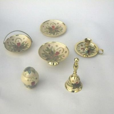 India Overseas Trading Corporation BR3133 - Brass Christmas Assortment