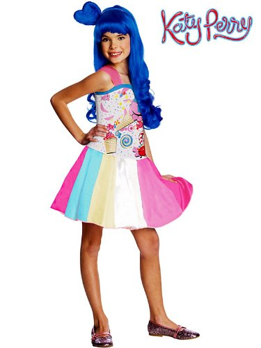 Katy Perry Kids Costumes (Katy Perry Candy Gurl Costume Size: Small)