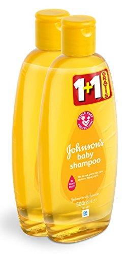 Johnson's Baby Shampoo - 2er Pack (2 x 500 ml) - Total: 1 Liter
