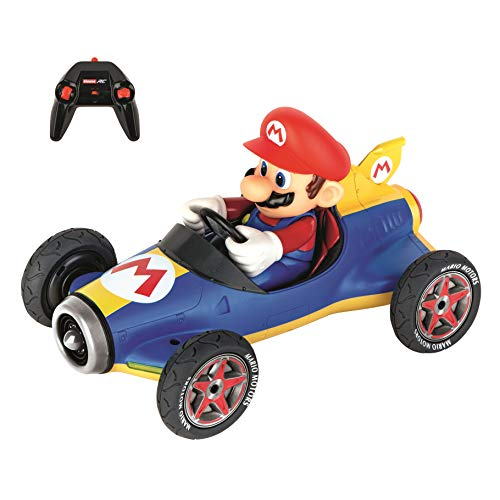 - Carrera RC Official Licensed Kart Mach 8 Mario 1: 18 Scale 2.4 Ghz Remote Radio Control Car with Rechargeable Lifepo4 Battery - Kids Toys Boys/Girls