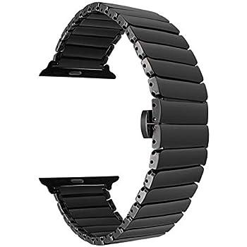 Amazon.com: Correa de cerámica a la moda, reloj inteligente ...
