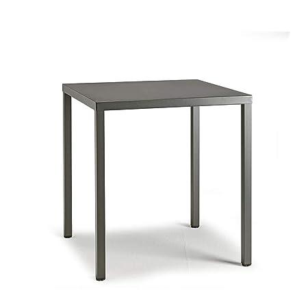 Scab Design Summer mesa cuadrada de 80x80 cm antracita: Amazon.es ...