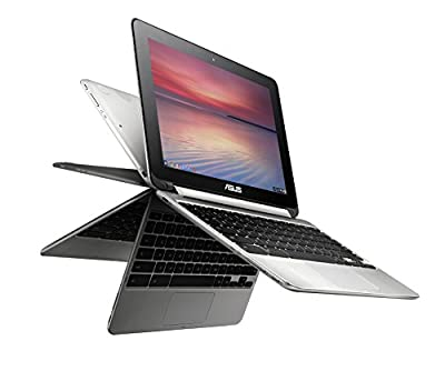 ASUS Chromebook Flip C100PA-DB02 10.1 Inch Touch Chromebook ( Quad Core, 4GB, 16GB, SSD, aluminum chassis)