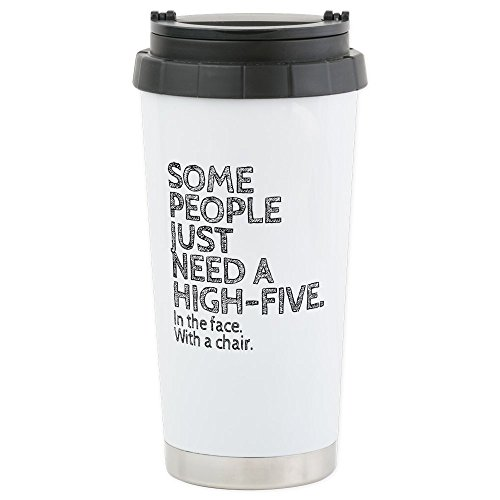 CafePress High Five Stainless Insulated Tumbler product image