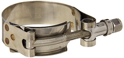 HPS SSTC-44-51 Stainless Steel T-Bolt Hose Clamp SAE 28 , Effective Size 1.73