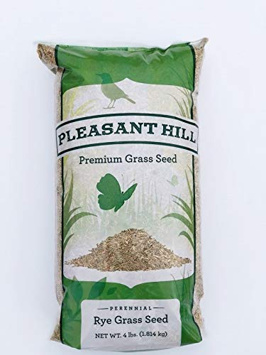 Pleasant Hill Premium Perennial Rye Grass Seed 4lbs by Pleasant Hill Premium Grass Seed