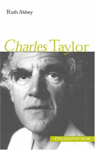 Download Charles Taylor (Philosophy Now) pdf