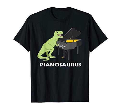 (Piano Gift Shirt Pianist Pianosaurus T Rex Piano Player Tee)