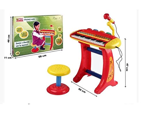 Bontempi piano kid con sgabello amazon giochi e giocattoli