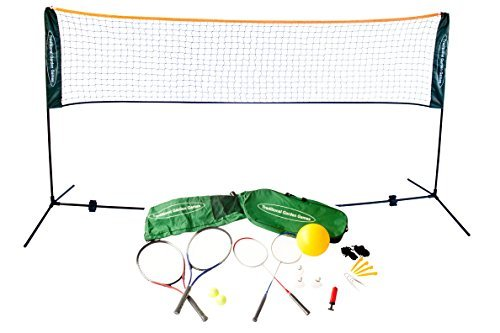 Traditional Garden Games 5 m Badminton Volleyball and Tennis Playset by Traditional Garden Games