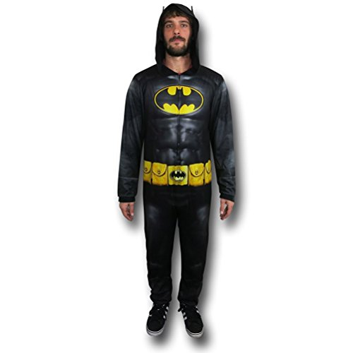 DC Comics Batman Dark Knight Uniform Men's Union Suit, Medium -