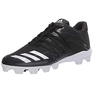 adidas Men's Afterburner 6 Grail MD Cleats Baseball Shoe, Black, 11.5