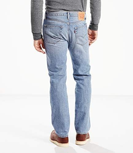 Levi's Men's 505 Regular Fit Jean, Kalsomine, 40x32