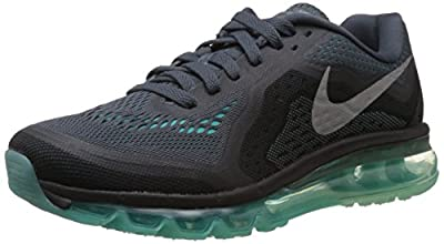 Nike Women's Air Max 2014 Dark Mgnt Grey/Rflct Slvr/Hypr Tr Running Shoe 9.5 Women US