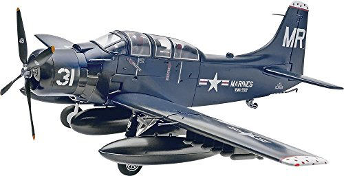 Revell Skyraider AD-5 (A-1E) Plastic Model (Big 5 Scale)